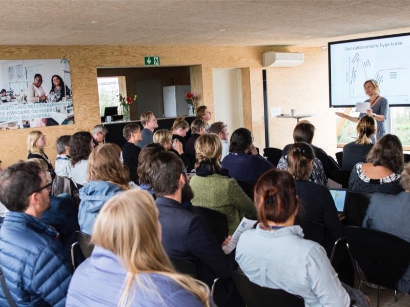 Oplæg ved Dorte Bukdahl til konference